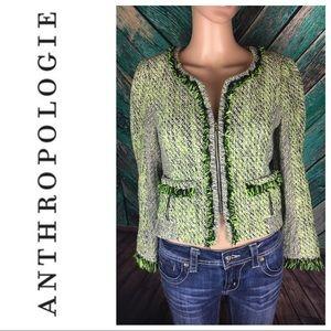 Yoana Baraschi Lime Green Blazer